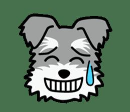 Cute! Schnauzer Stickers sticker #15586621