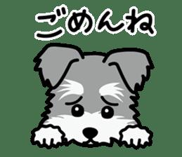 Cute! Schnauzer Stickers sticker #15586624