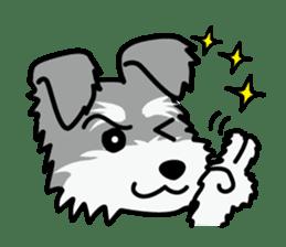 Cute! Schnauzer Stickers sticker #15586638