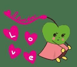 Alien Kyun chan who is in love in Earth sticker #15588508