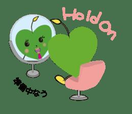 Alien Kyun chan who is in love in Earth sticker #15588510