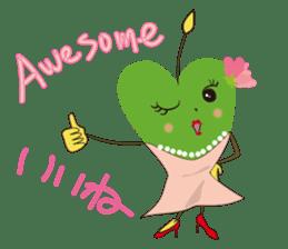 Alien Kyun chan who is in love in Earth sticker #15588512