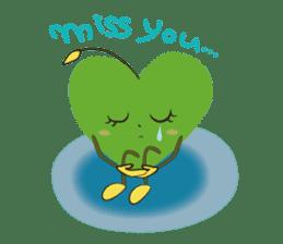 Alien Kyun chan who is in love in Earth sticker #15588515