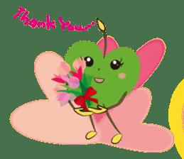 Alien Kyun chan who is in love in Earth sticker #15588516