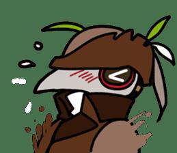 Unprofessional Plague Doc. sticker #15592046