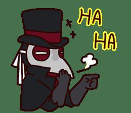 Unprofessional Plague Doc. sticker #15592059