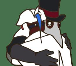 Unprofessional Plague Doc. sticker #15592067