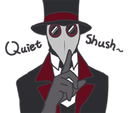 Unprofessional Plague Doc. sticker #15592071