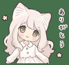 Twin kitten sticker sticker #15595973