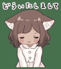 Twin kitten sticker sticker #15595974