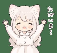 Twin kitten sticker sticker #15595975