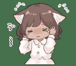 Twin kitten sticker sticker #15595980