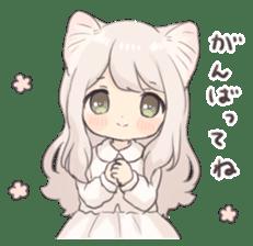 Twin kitten sticker sticker #15595981