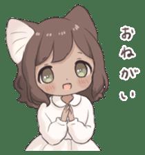 Twin kitten sticker sticker #15595986