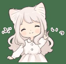 Twin kitten sticker sticker #15595989