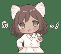 Twin kitten sticker sticker #15595990