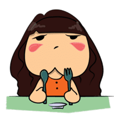 Cute Asian Girl sticker #15601674