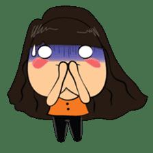 Cute Asian Girl sticker #15601678