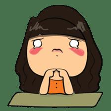 Cute Asian Girl sticker #15601681