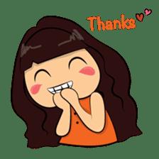 Cute Asian Girl sticker #15601692