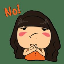 Cute Asian Girl sticker #15601694