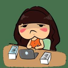 Cute Asian Girl sticker #15601695