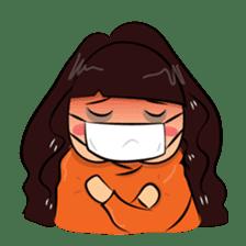 Cute Asian Girl sticker #15601697