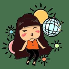 Cute Asian Girl sticker #15601698