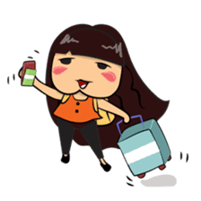 Cute Asian Girl sticker #15601702