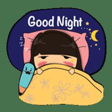 Cute Asian Girl sticker #15601704