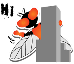 FLYMAN sticker #15606901