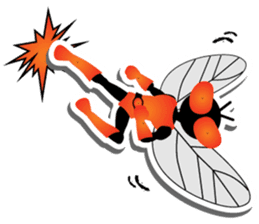 FLYMAN sticker #15606919