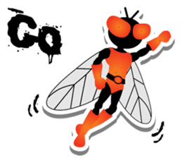 FLYMAN sticker #15606927