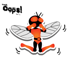 FLYMAN sticker #15606935