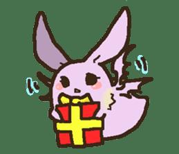 Japanese long-eared bat sticker #15610567