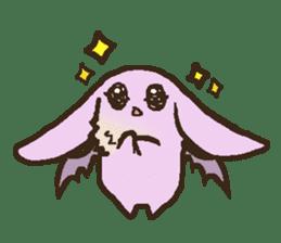 Japanese long-eared bat sticker #15610579