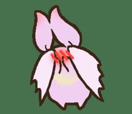 Japanese long-eared bat sticker #15610581