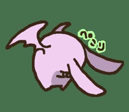 Japanese long-eared bat sticker #15610585