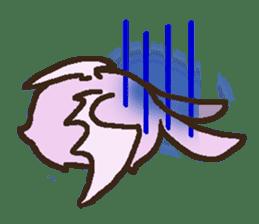Japanese long-eared bat sticker #15610587