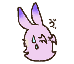 Japanese long-eared bat sticker #15610588