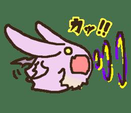 Japanese long-eared bat sticker #15610590