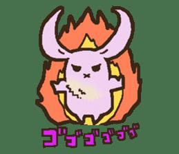 Japanese long-eared bat sticker #15610592