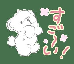 Polar bear talking sticker #15610966