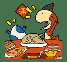 Tikka & Benedict 2 - animated dinosaurs sticker #15611264