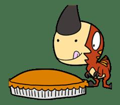 Tikka & Benedict 2 - animated dinosaurs sticker #15611266