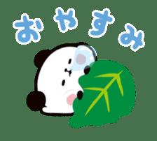 MOCHI MOCHI PANDA Moving Stickers sticker #15613735