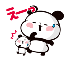 MOCHI MOCHI PANDA Moving Stickers sticker #15613738
