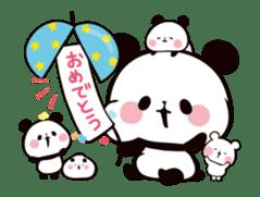 MOCHI MOCHI PANDA Moving Stickers sticker #15613753
