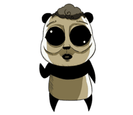 Scary Panda Kibo sticker #15626990