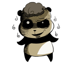 Scary Panda Kibo sticker #15627001